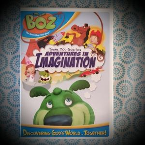 BOZ The Green Bear Next Door DVD